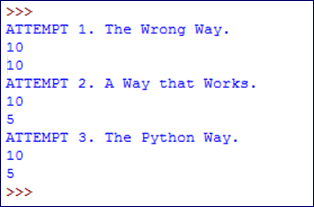 Simultaneous Assignment in Python