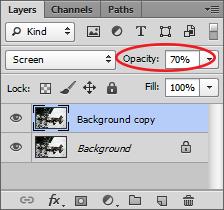 Layer Panel Opacity