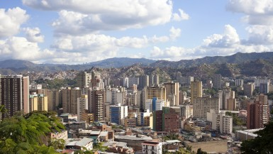 Caracas city center