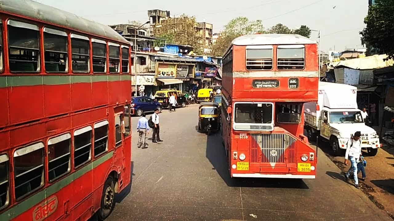 Double-Decker Buses of Mumbai