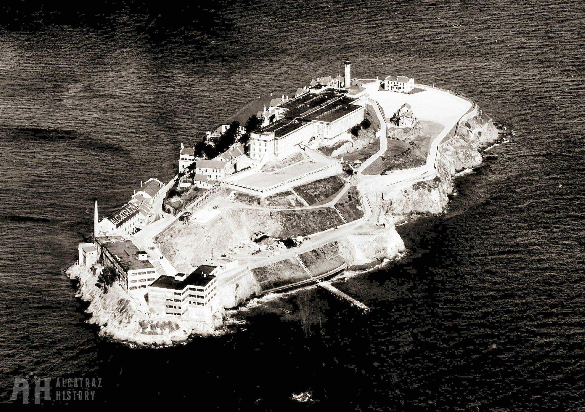 Alcatraz Island in 1934