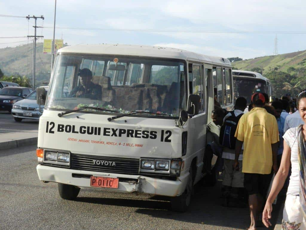 Buses in Port Moresby
