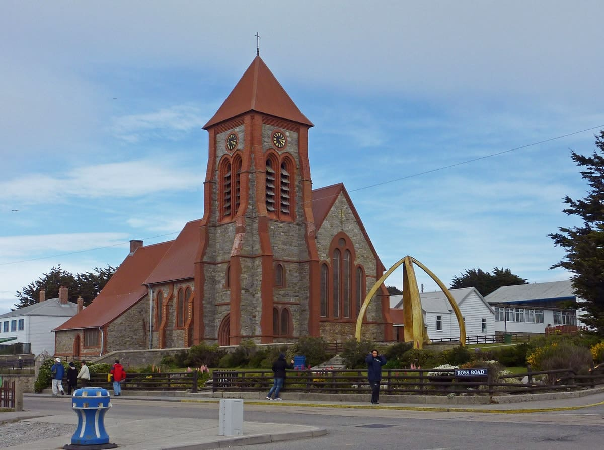 Christ Church Cathedral in Stanley