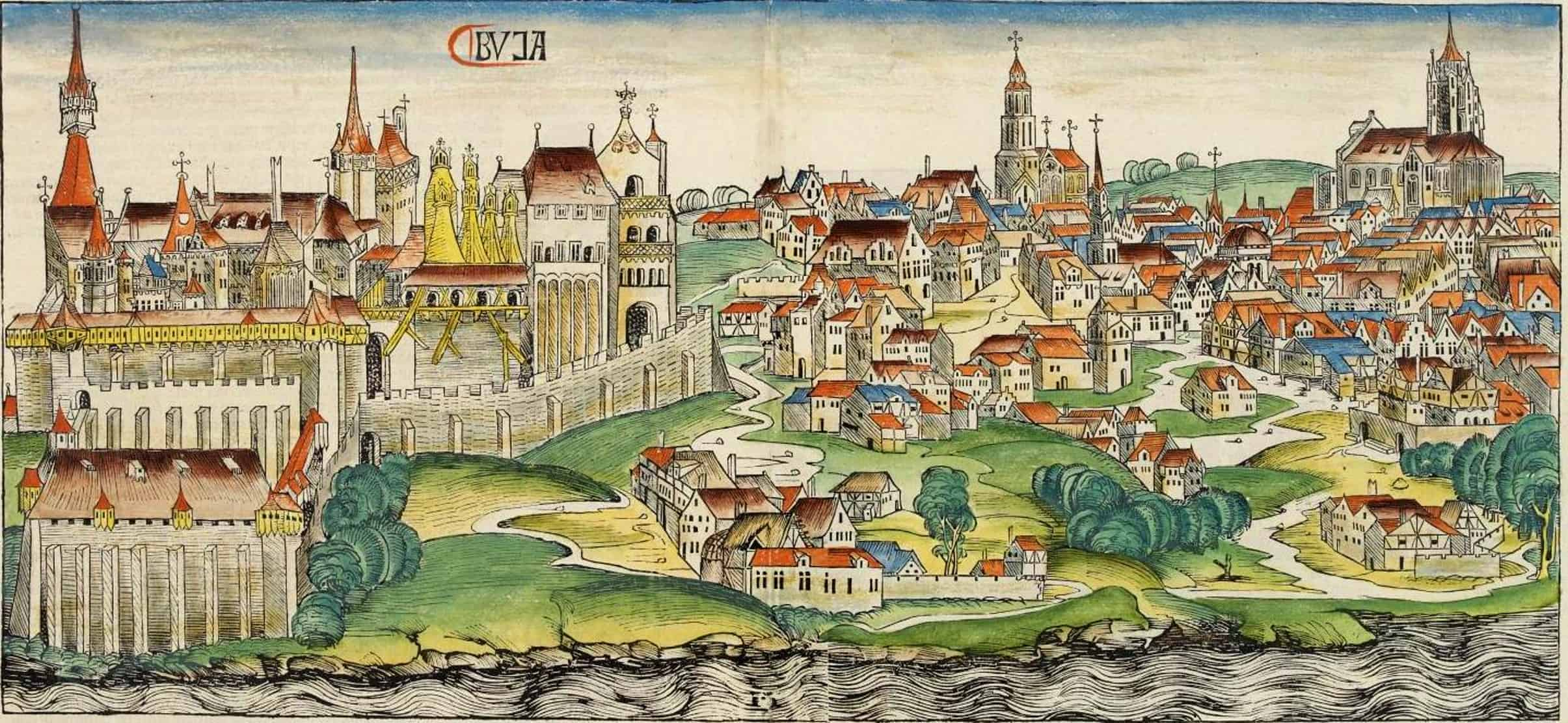Buda during the Middle Ages