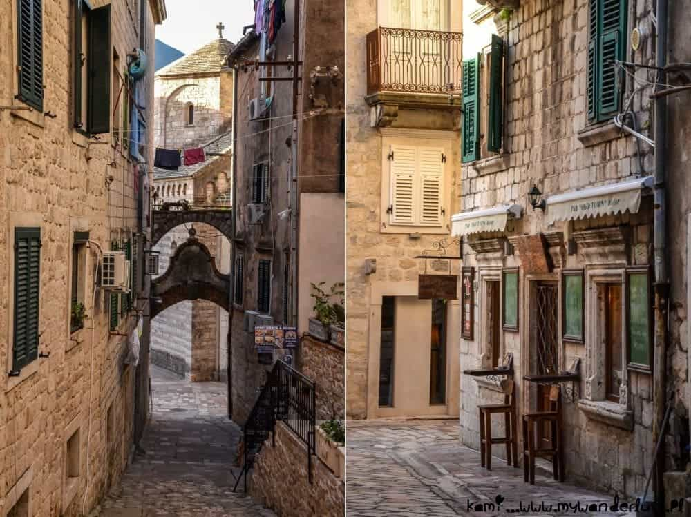 Streets of Kotor Old Town