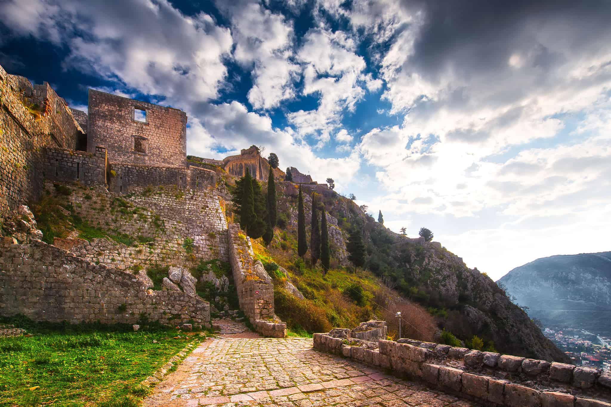 St. John's Castle of Kotor Old Town
