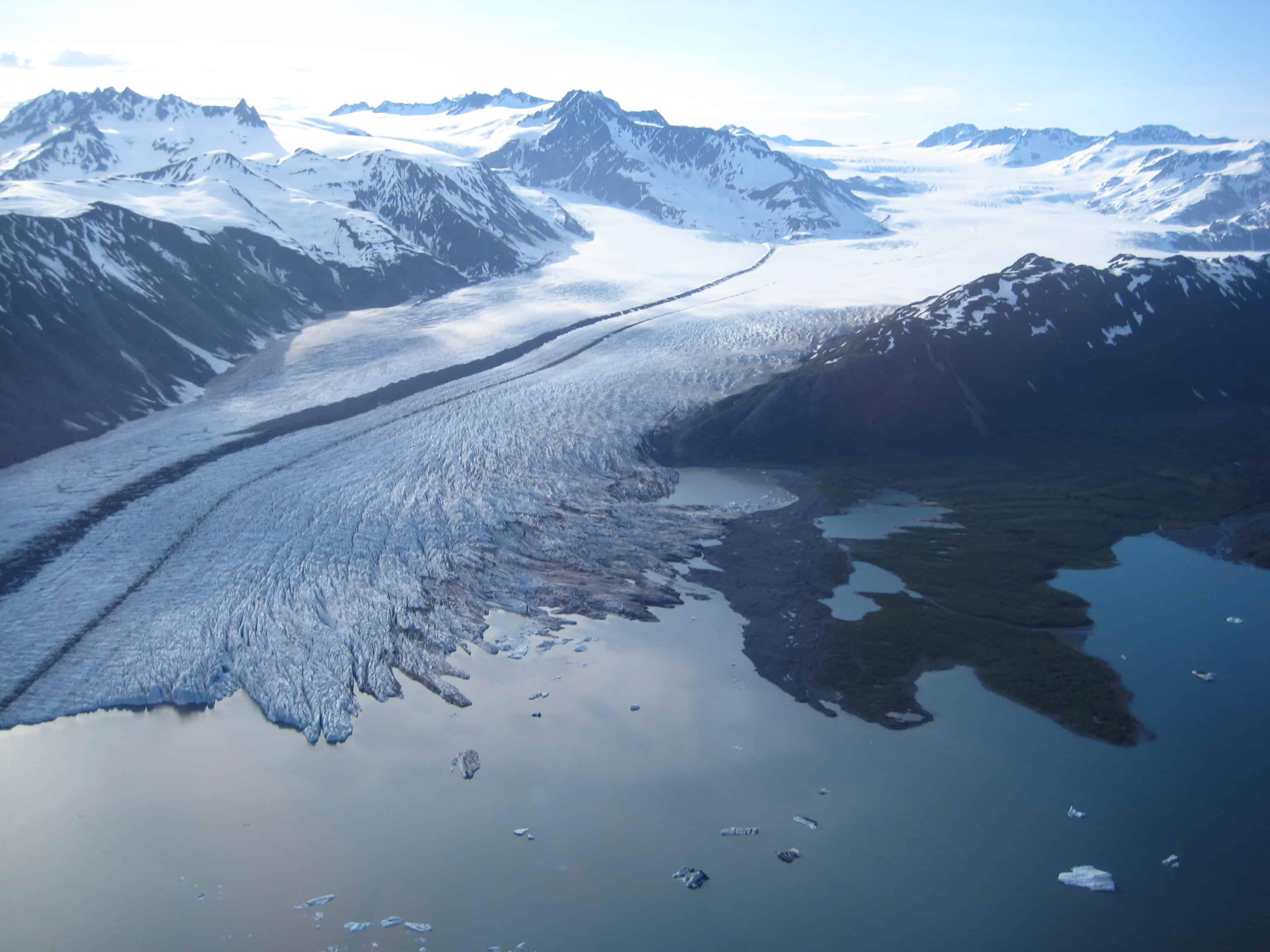 Bear Glacier Kenai Fjords National Park