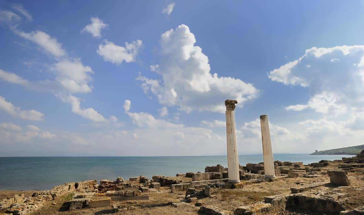 Tharros ancient city
