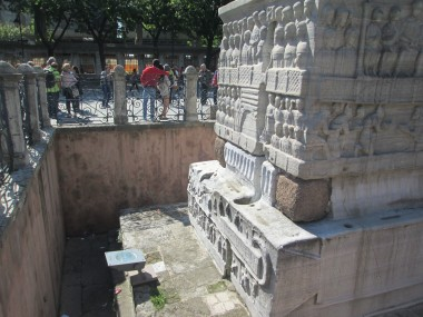 Bottom of the Obelisk of Theodosius