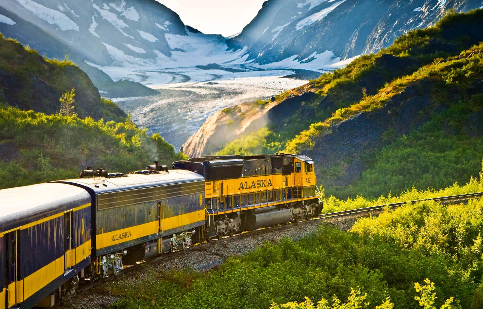 Alaska Railroad trains