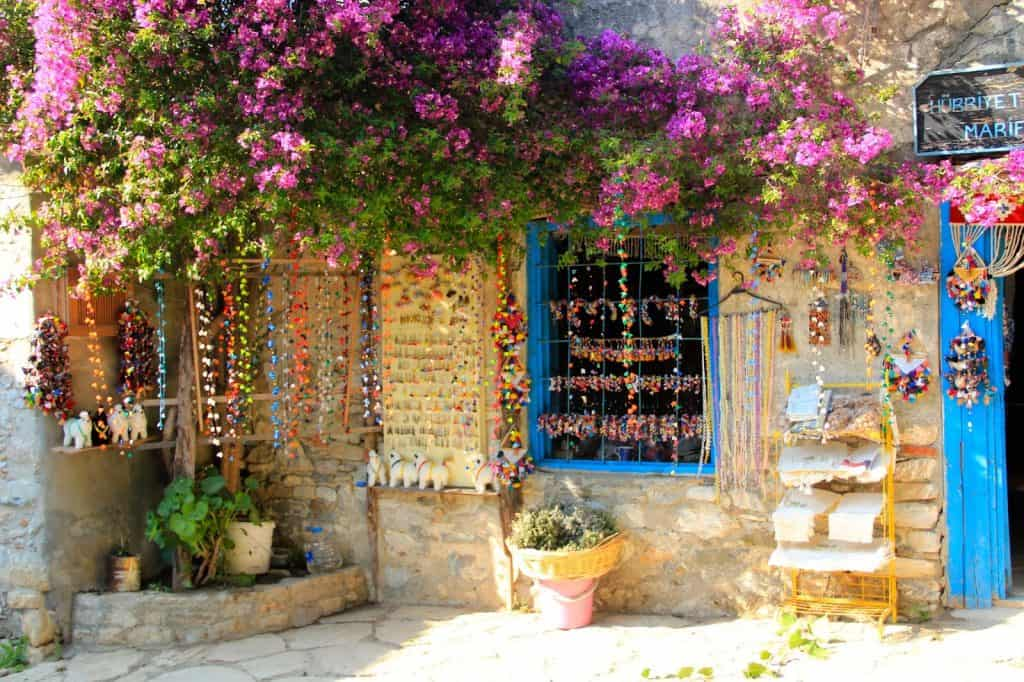 Datca Old Town houses