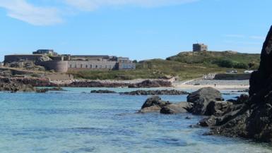 Fort Corblets Bay Alderney Island