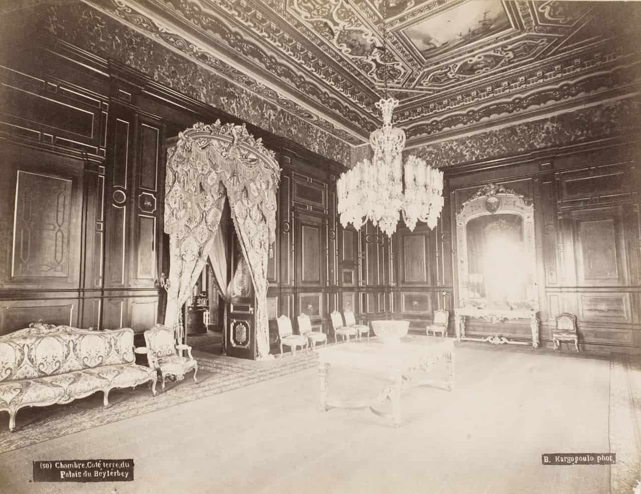 Beylerbeyi Palace picture in 1875