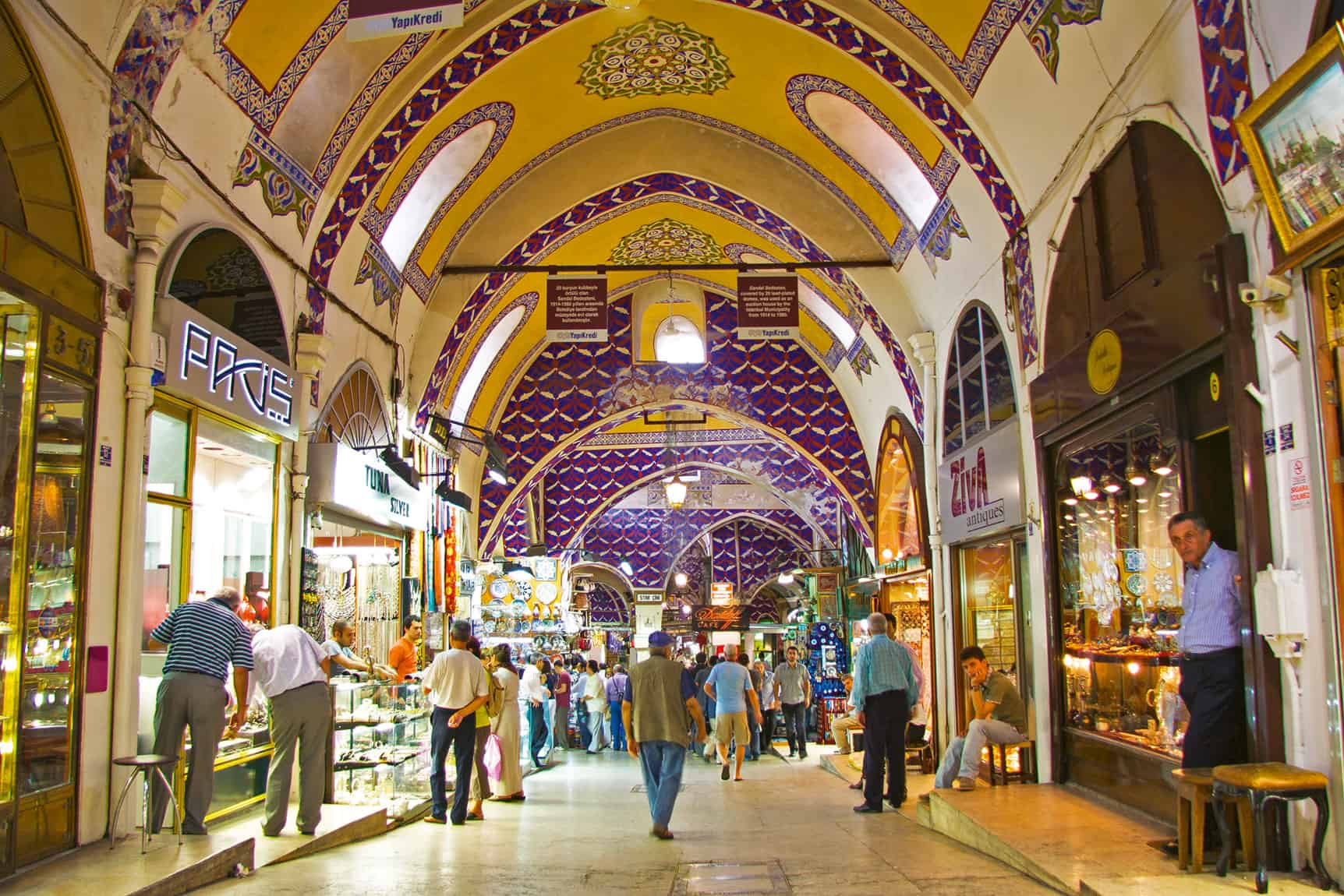 Grand Bazaar Gold Shops
