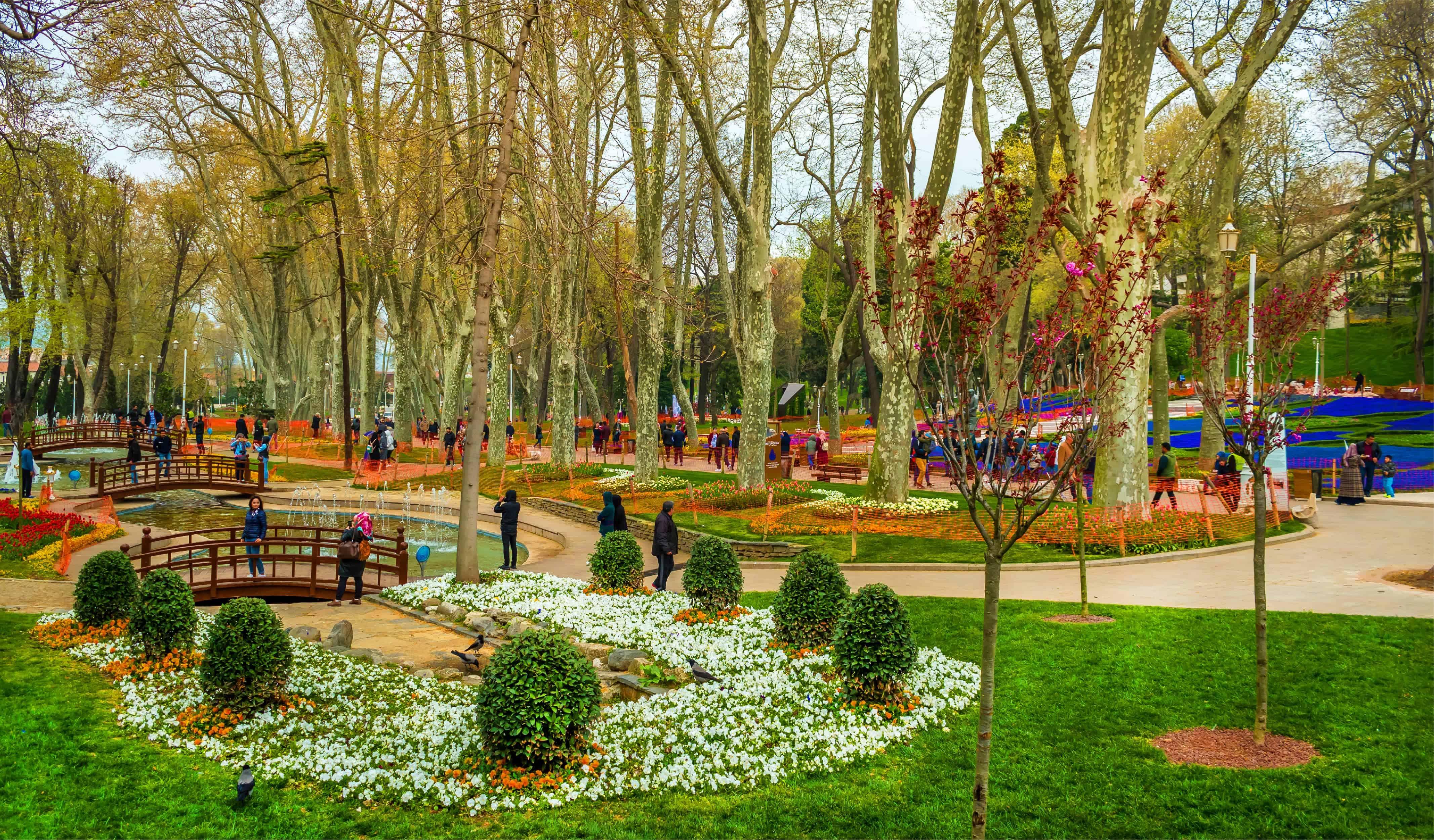 Gulhane Parki near the Topkapi Palace
