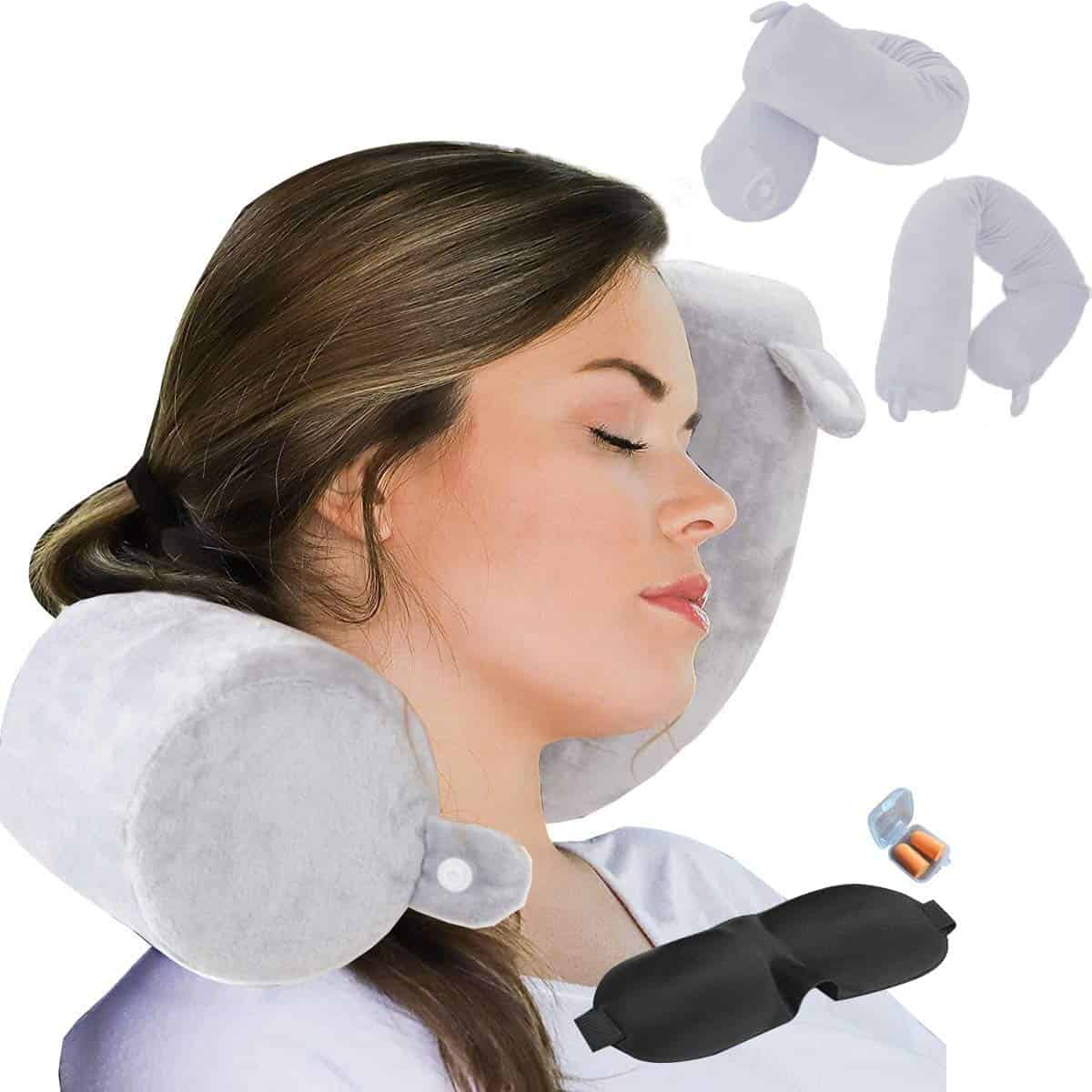 ZOYLEE Twist Travel Pillow