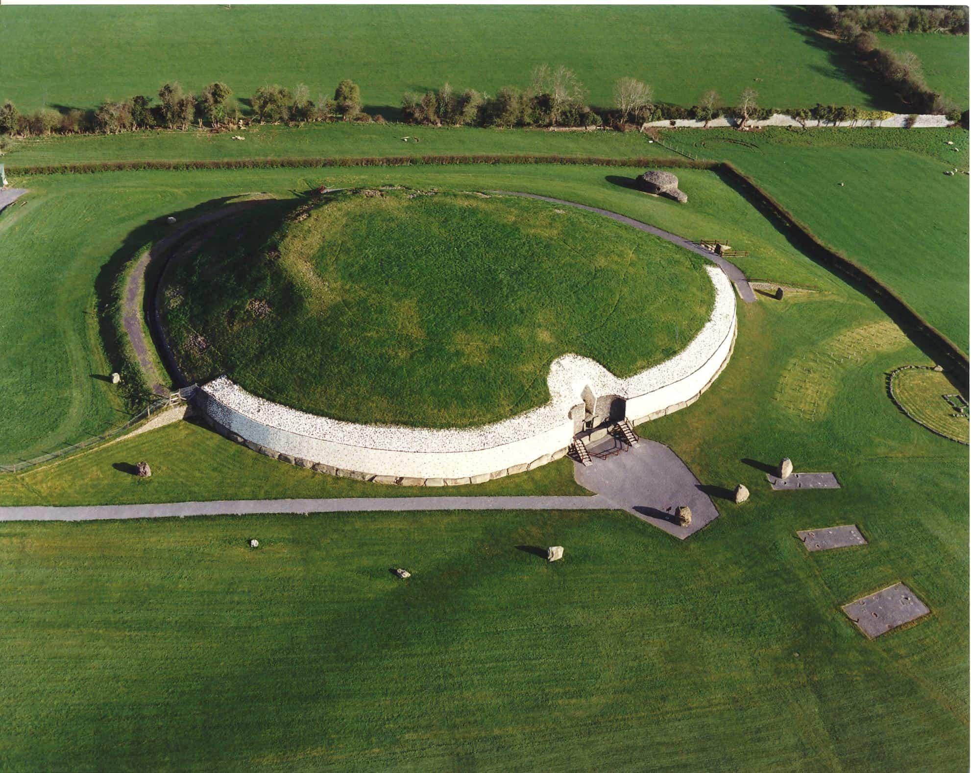 Newgrange ancient tomb