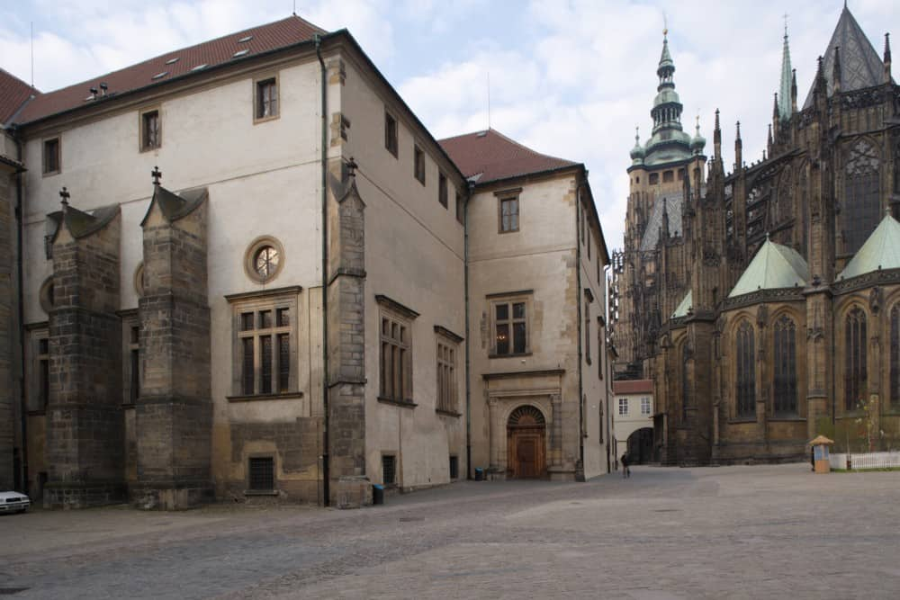 Old Royal Palace at the Prague Castle