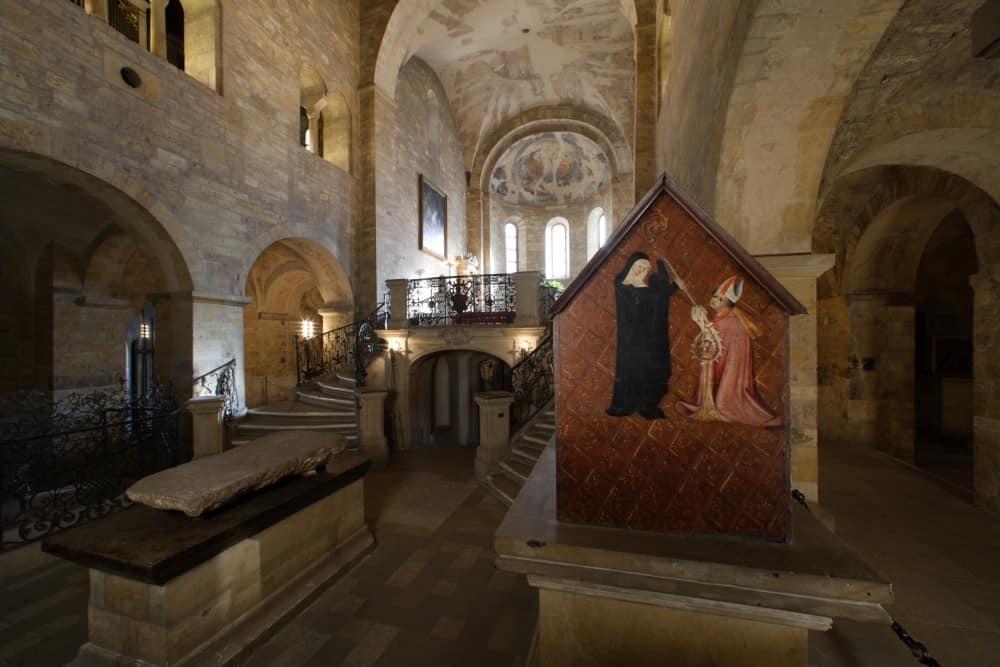 Interior of St. George's Basilica