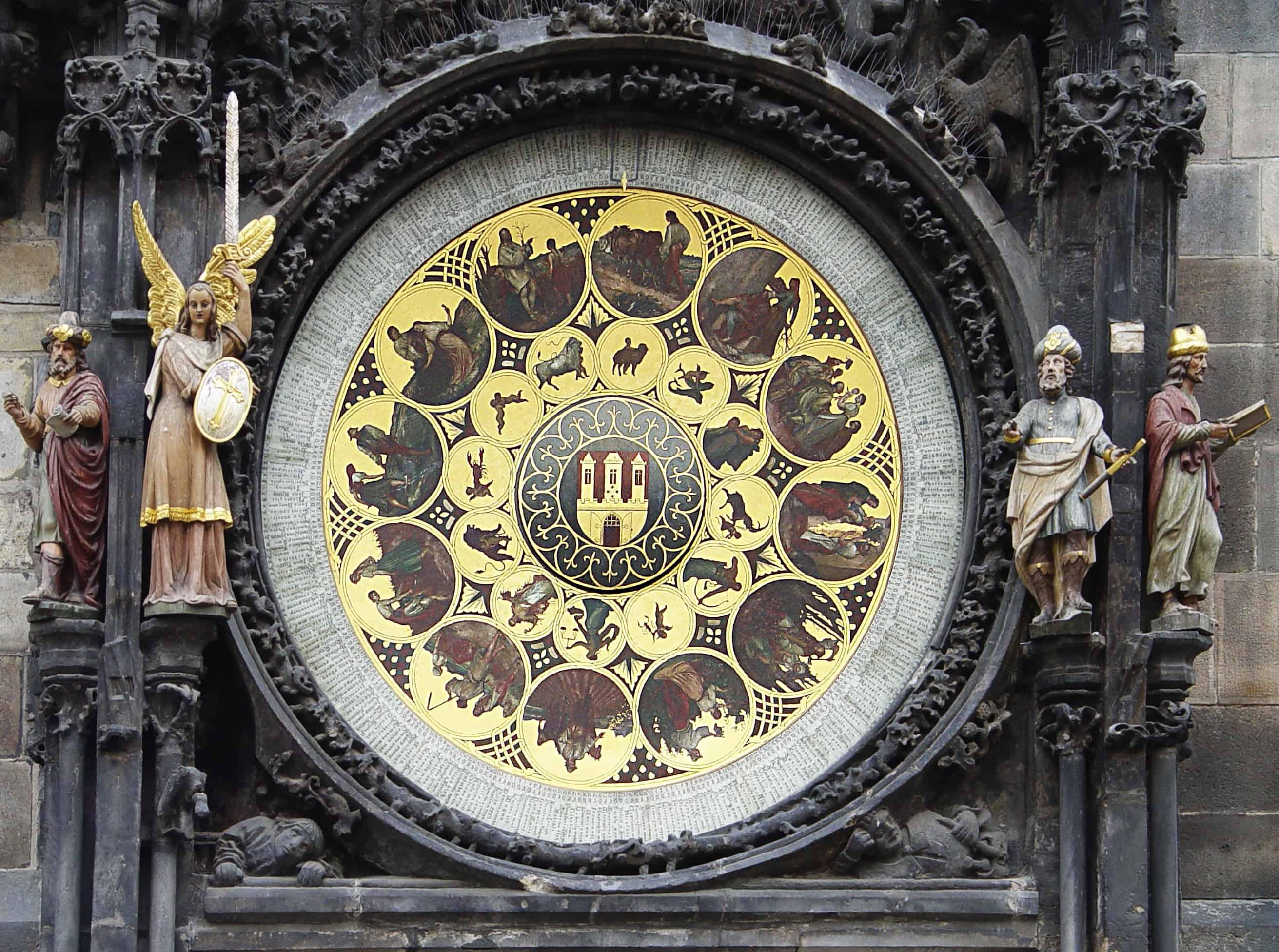 Calendar of the Astronomical Clock