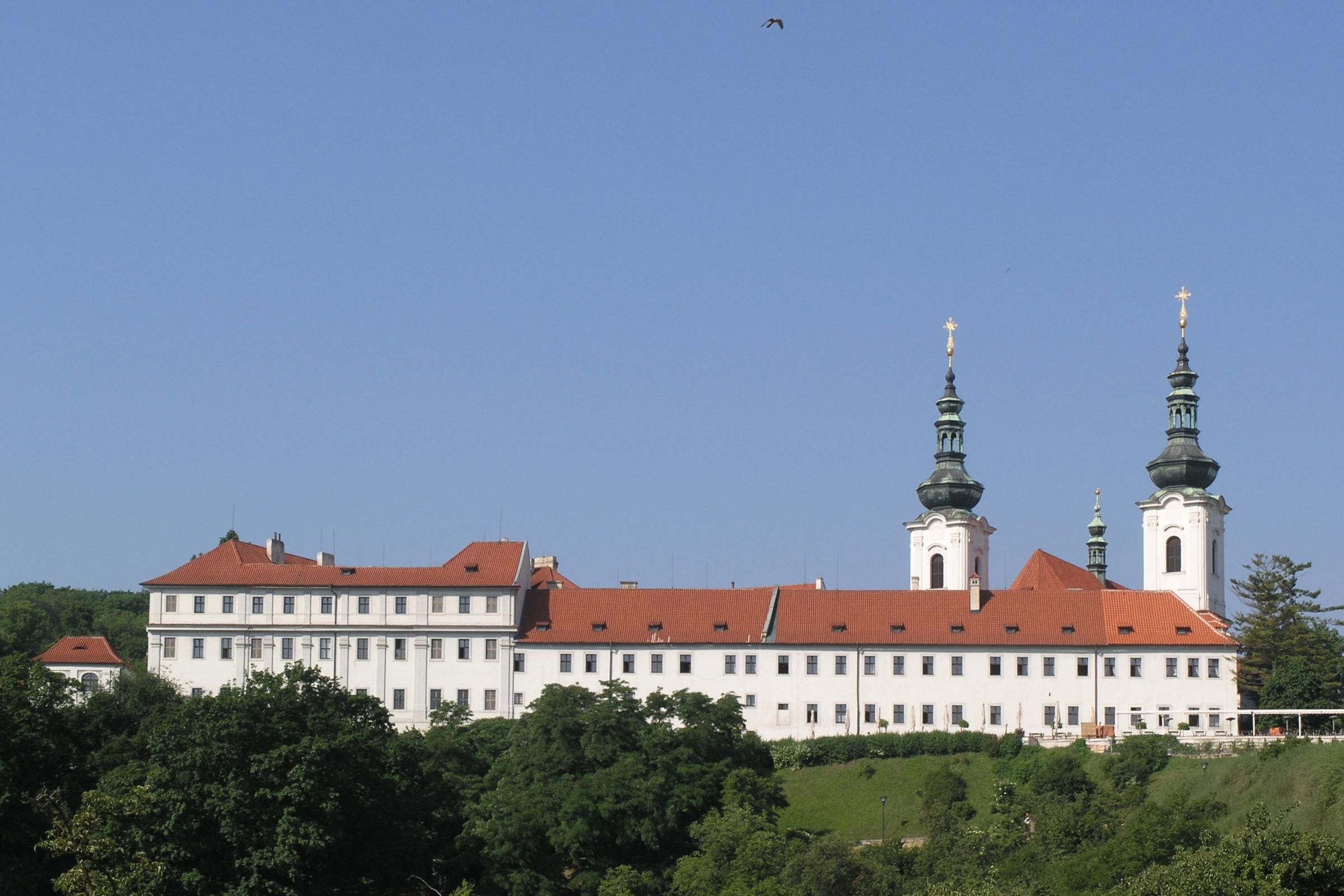 Strahov Monastery from distance