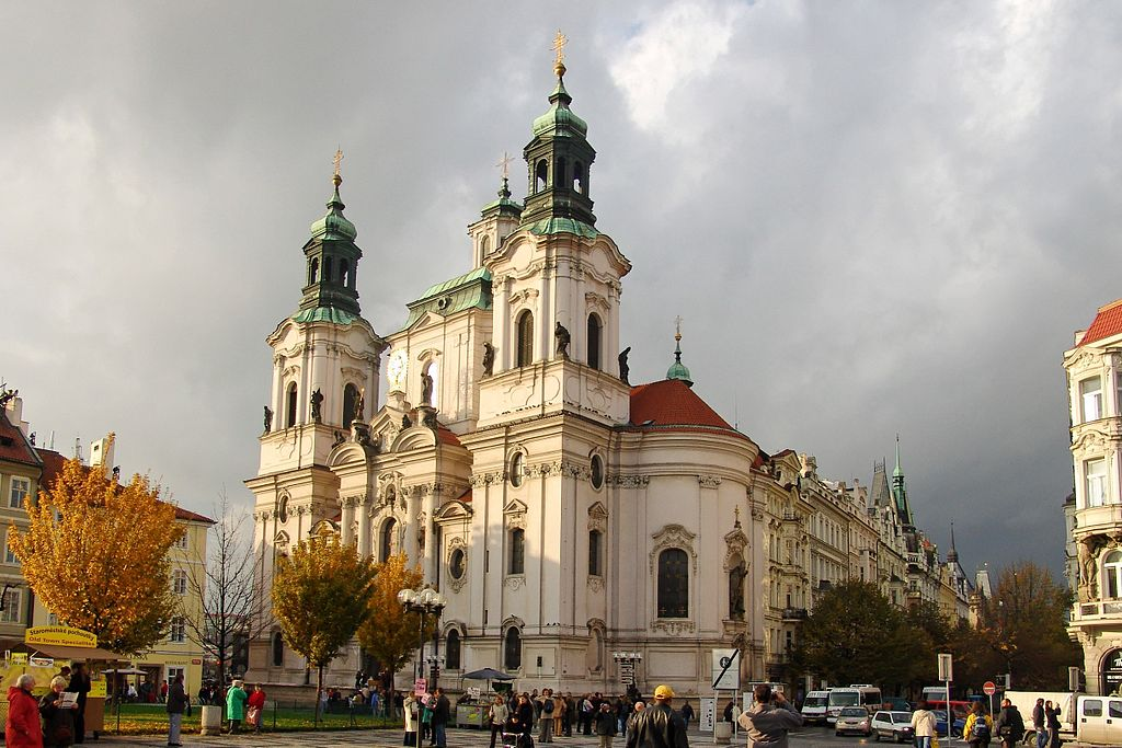 St. Nicholas Church from outside