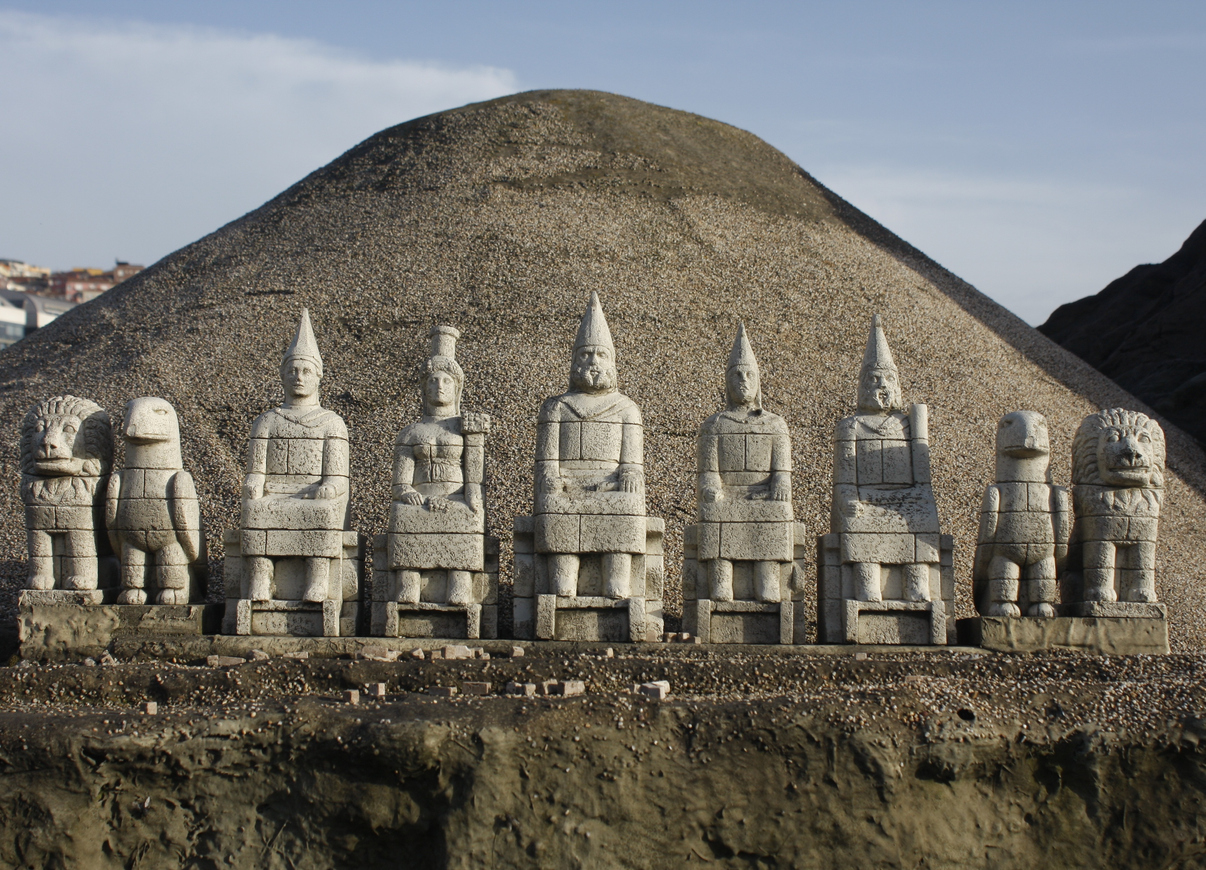 miniature God figurines in Nemrut