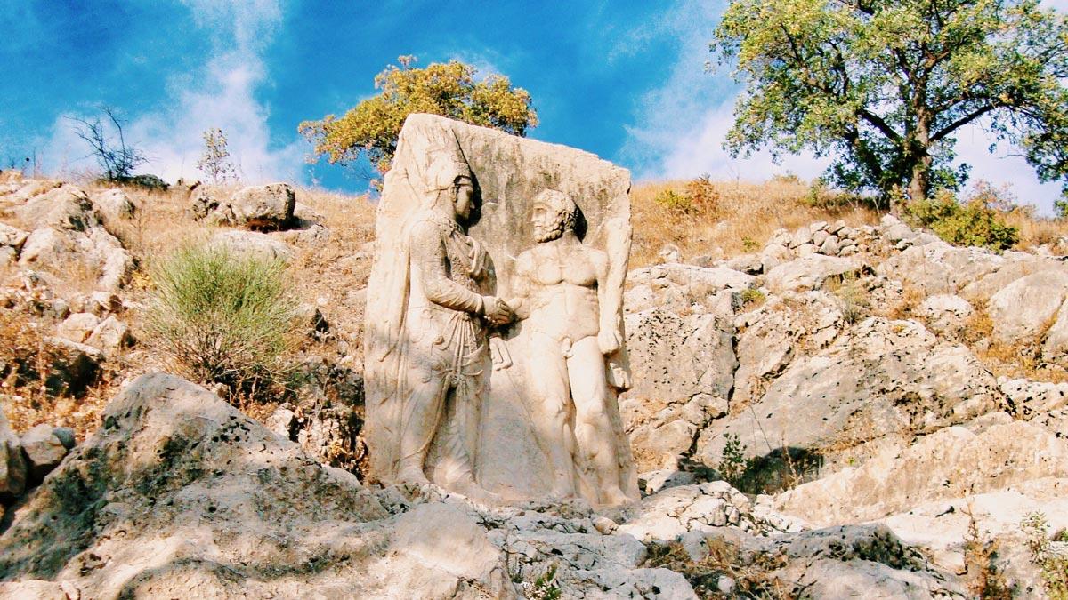 King Clasped with Gods, Nemrut Mount, Adıyaman