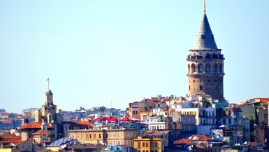 Istanbul city tour around the Galata