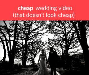 cheap wedding video, DIY wedding video, wedding video, wedding videography, wedding video alternatives, Weddeo