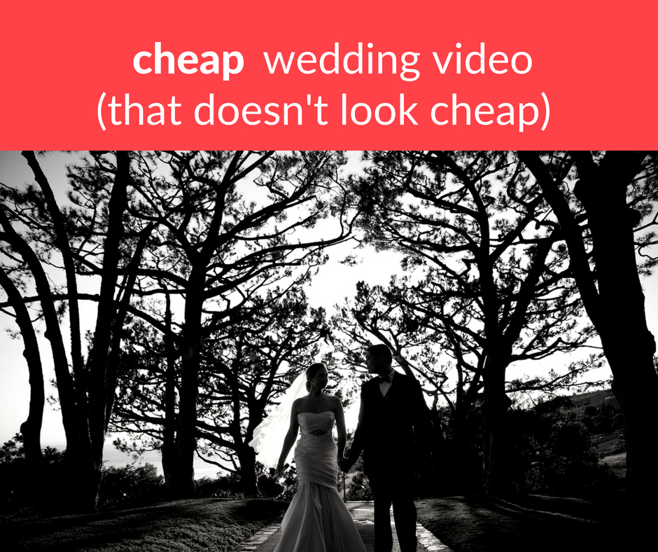 cheap wedding video, DIY wedding video, wedding video, wedding videography, wedding video alternatives, Weddeo