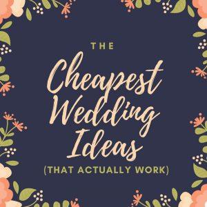 cheapest wedding ideas, Weddeo, DIY wedding, affordable wedding video, wedding video alternatives, cheap wedding ideas