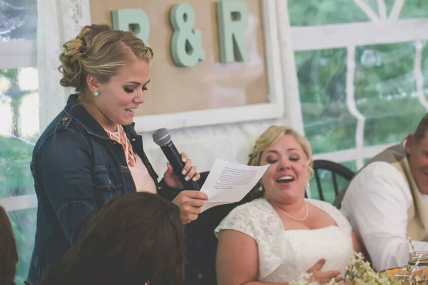 "Funny Wedding Toasts: A How-To Guide …or maybe ""How-NOT-To"""