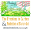 Freedom to Garden & Reclaimation of Natural Rights