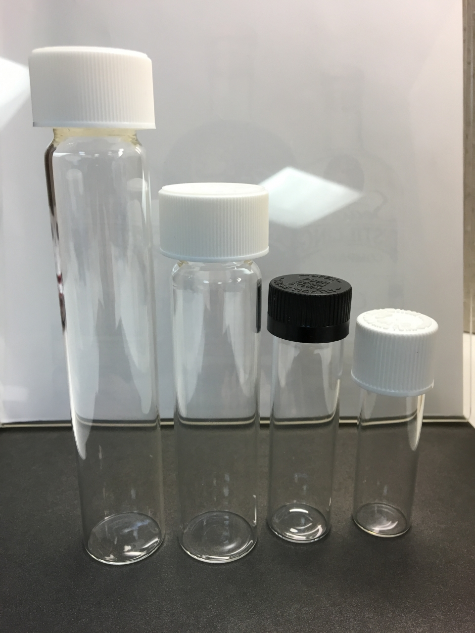 CR Glass vials