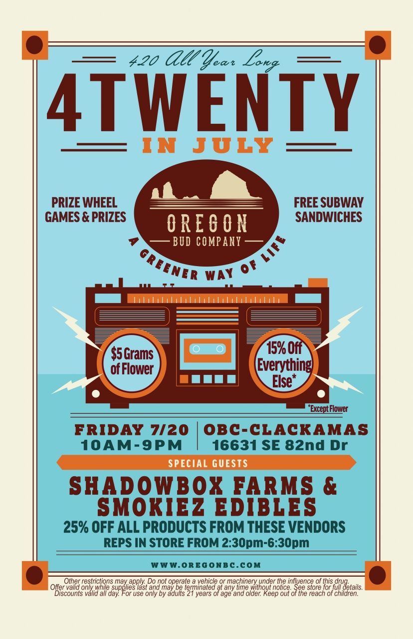 Clackamas July Event