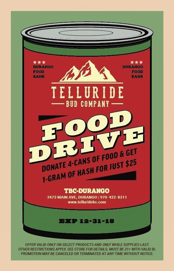 Food drive 11.13.18