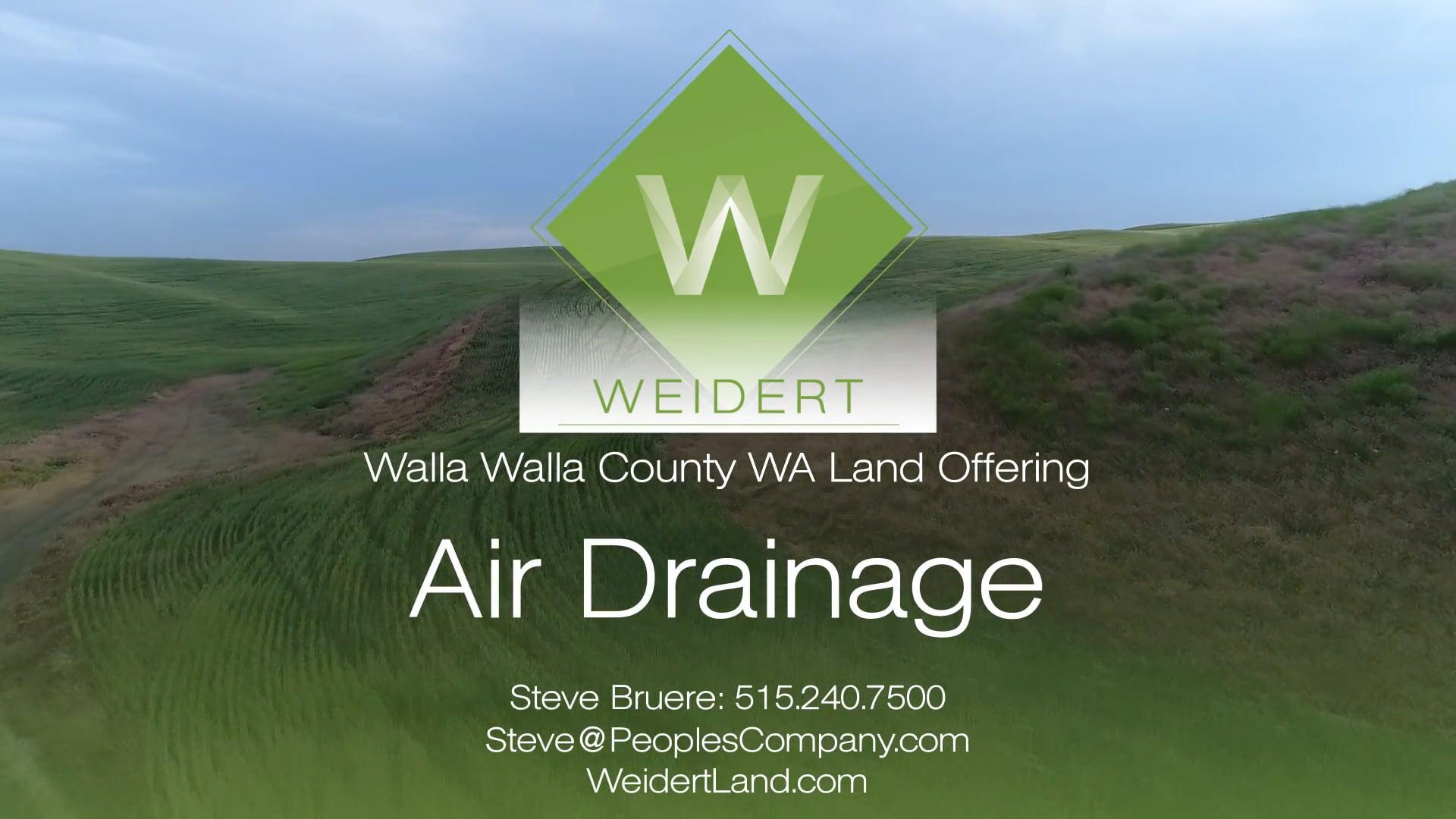 Air Drainage