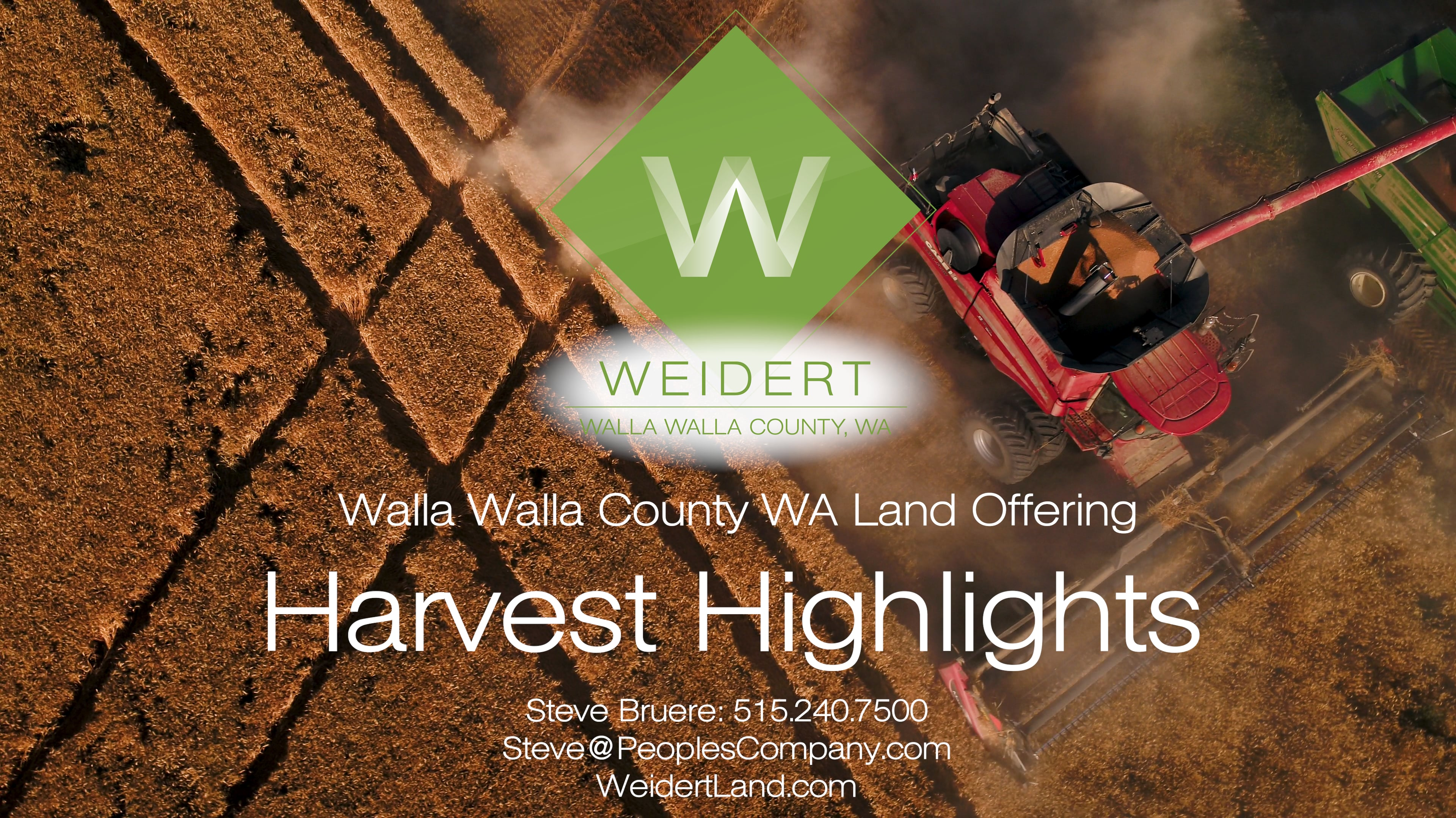 Weidert Harvest