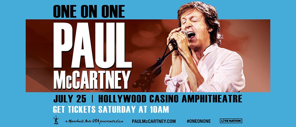 Image result for paul mccartney Hollywood Casino Amphitheatre 2017