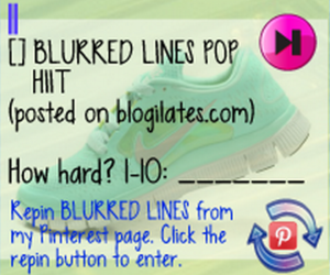 Blogilates POP HIIT: Blurred Lines