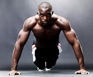 Image result for black man doing diamond push ups