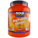 NOW Soy Protein Isolate, 2 Lbs., Unflavored