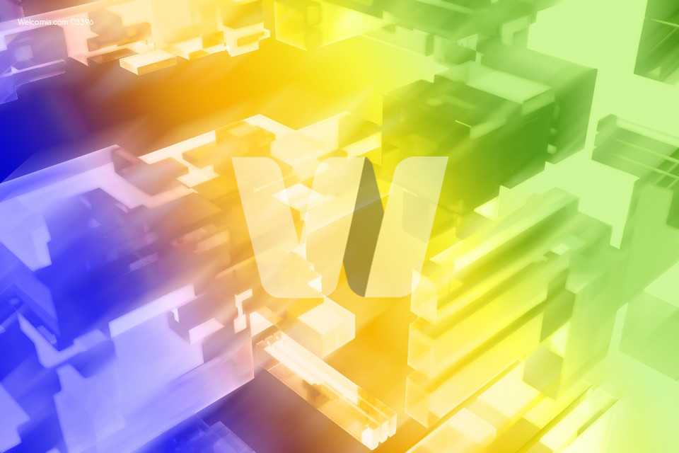 3D Colorful Blocks