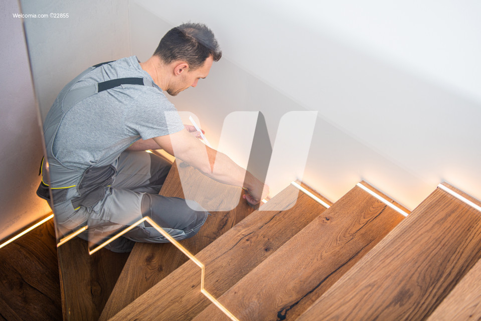 Wooden Residential Stairs