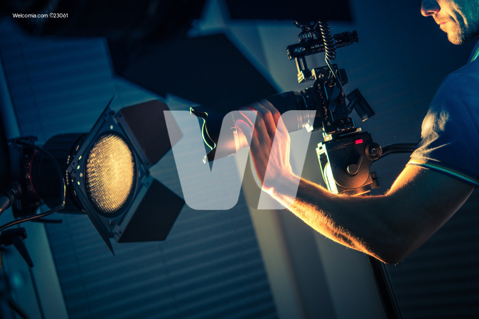 Camera Operator Indoor Shot