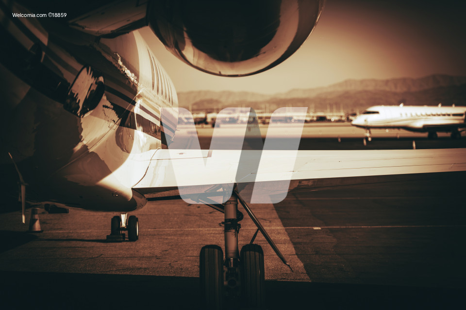 Air Travel Jet Airplane