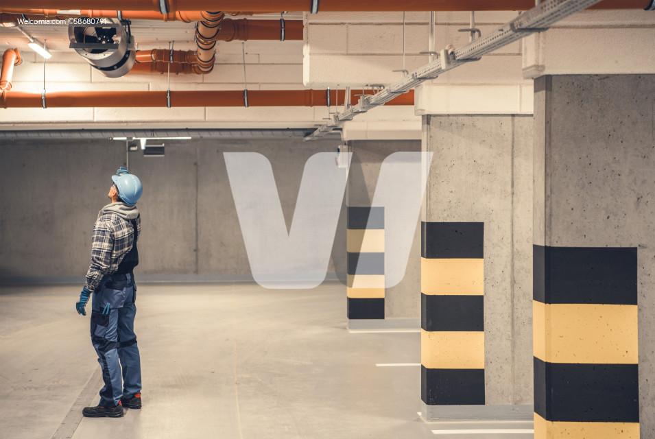 Air Ventilation Underground Garage Polluted Air Removal