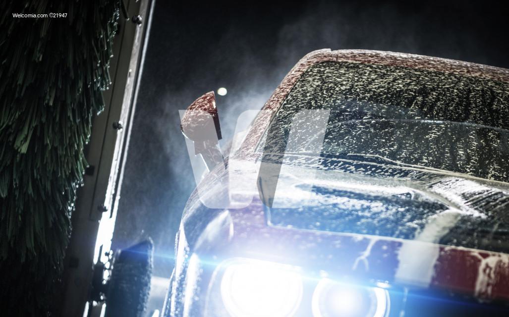 Automatic Car Brush Wash