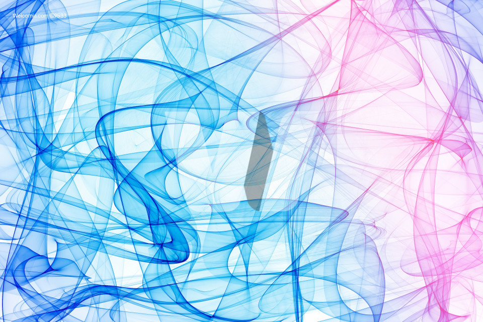 Blue-Pink Abstract Fumes